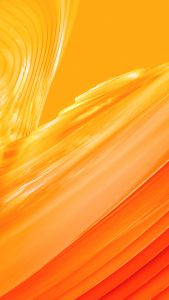 Xiaomi Redmi Y1 Wallpaper with Abstract Yellow Lines