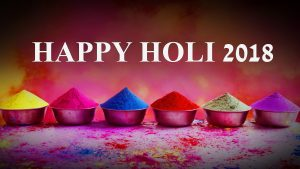 Happy Holi 2018 Wallpaper in HD 2560x1440