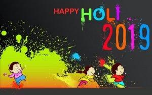 Happy Holi Wallpaper 2019 for Kids