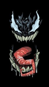 Artistic Venom Wallpaper for 5 Inch Smartphones
