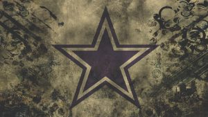 Dallas Cowboys Logo Wallpaper in HD 1080p with Abstract Vintage Background