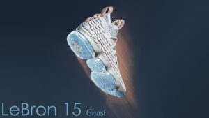 LeBron James Shoes Wallpaper with Nike LeBron 15 Ghost