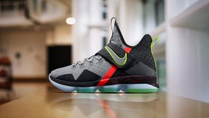 Lebron James Shoes Wallpaper with LeBron 14