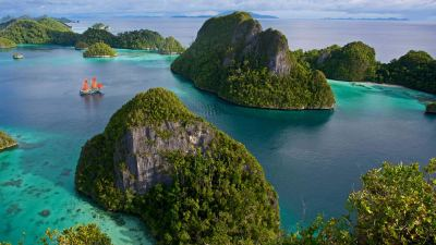 Natural Images HD 1080p Download with Wayag Island in Raja ...