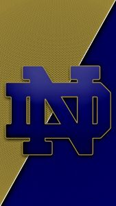 Notre Dame Fighting Irish Logo Wallpaper for Mobile Phone