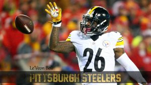 Pittsburgh Steelers Player Wallpaper - Le'Veon Bell