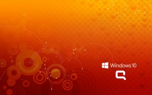 Windows 10 OEM Wallpaper for HP Compaq Laptops 2 of 6 - Abstract Dots