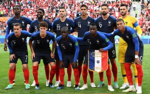 France football Starting Eleven squad for 2018 Russia World Cup