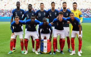 France Football Squad for 2018 Russia FIFA World CUP