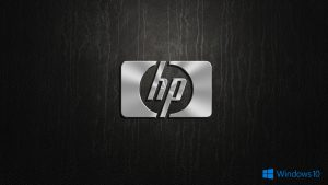 Windows 10 OEM Wallpaper for HP Laptops 02 0f 10 - Logo in 3D
