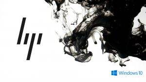 Windows 10 OEM Wallpaper for HP Laptops 09 0f 10 - Black and White Abstract Background