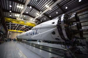 Engineering Pictures of Rocket of SpaceX in Cape Canaveral Air Force Station - US