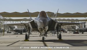 Fighter Jet Wallpaper with Close Up Photo of F-35A Joint Strike Fighter of the Royal Australian Air Force