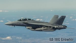 Fighter Jet Wallpaper with EA-18G Growler of RAAF