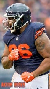12 Best Chicago Bears Wallpapers #12 - Akiem Hicks Bears Wallpaper for Smartphones