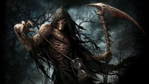 Artistic Grim Reaper Wallpaper in HD for Desktop Background