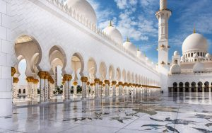 Islamic Wallpapers Full HD Size with Picture of Beautiful Mosque