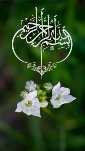 Phone Nature Wallpapers as Islamic Wallpaper for Mobile HD with Bismillah