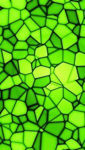 HD Green Wallpaper for Mobile with Abstract Stone Art Surface