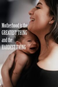 Top 20 Baby Quotes and Sayings for Mom 19 - Motherhood is the greatest thing