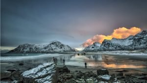 Beautiful Nature Wallpaper Big Size #25 – Snow Capped Mountains During Daytime in Flakstad