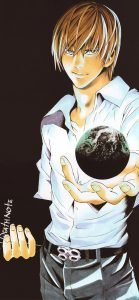 Free iPhone 11 Wallpaper Download 10 of 20 - Death Note Anime Character - Yagami Raito