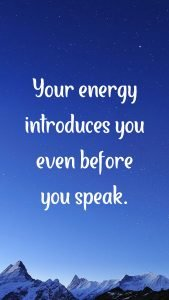 20 Best Sunday Thoughts Images and Inspirational Quotes 03 - Your energy introduces you