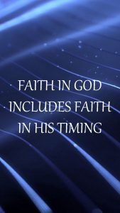 20 Best Sunday Thoughts Images and Inspirational Quotes 04 - Faith in God and his timing