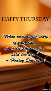 20 Best Thursday Thought Wallpapers as Motivational Quotes 10 - By Harley Davidson