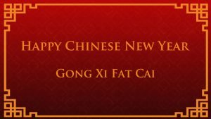 Wallpaper for Happy Chinese New Year - Gong Xi Fat Cai