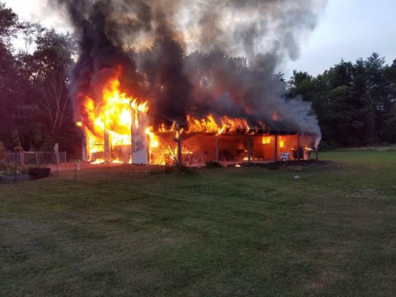 Spring 2019 News, Nebraska, Barn Fire Safety