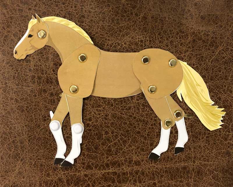 Articulated horse craft