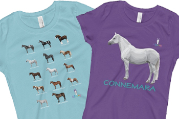 HORSE THEMED SHIRTS