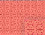 peach geometric background pattern