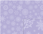 lavender snowflakes background pattern