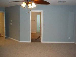 Interior gray paint