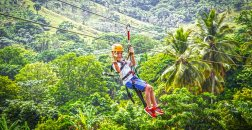 Canopy Zipline is a safe activity suitable for all ages.