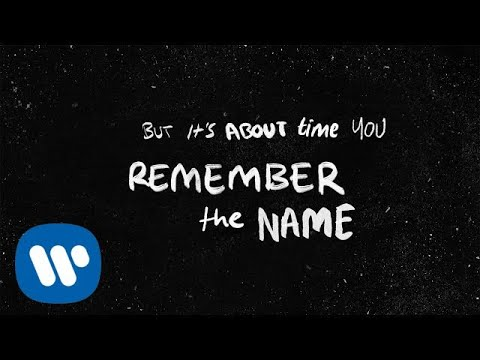"""Ed Sheeran With Eminem & 50 Cent """"Remember The Name"""" Lyrical Video image"""