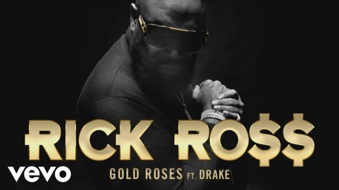 Rick Ross Drake Golden Roses Audio, image