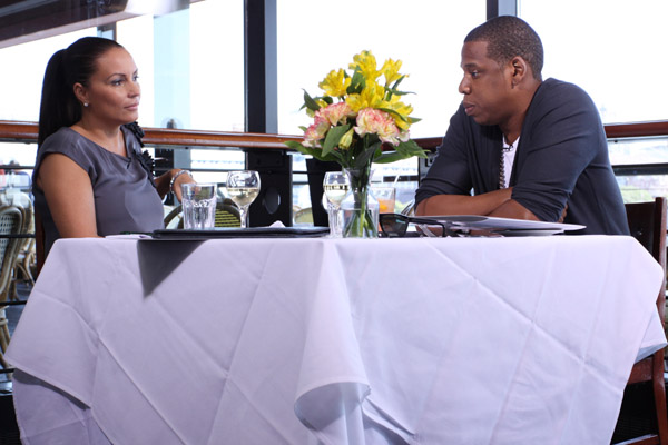 Angie Martinez and Jay-Z image