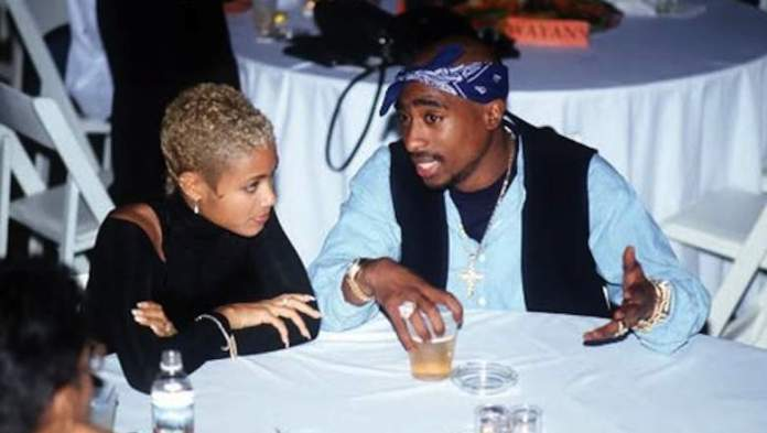 Jada Pinkett Smith and Tupac Shakur image