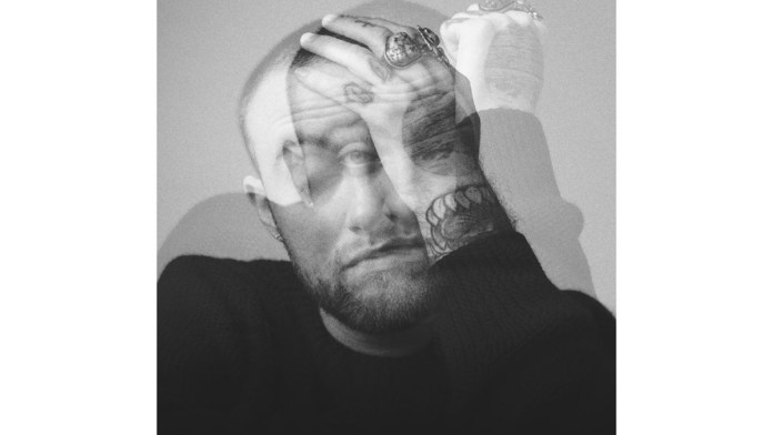 Mac Miller album circles cover image