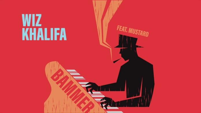 Wiz Khalifa Mustard Bammer single cover image