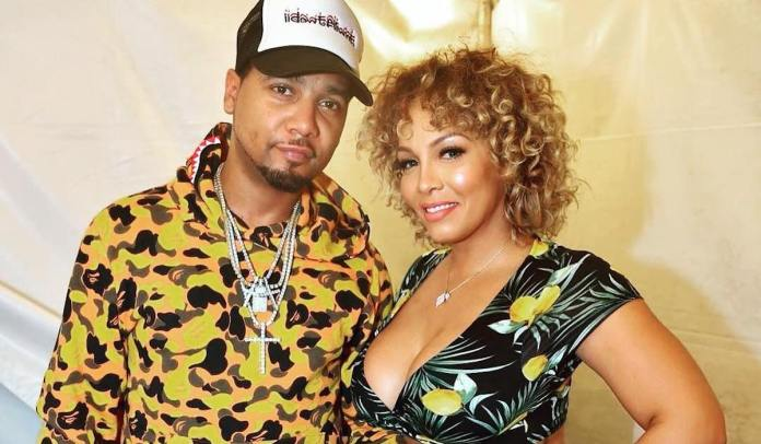Juelz Santana and his Wife