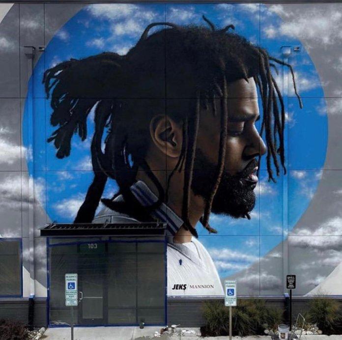 J. Cole Mural North Carolina image