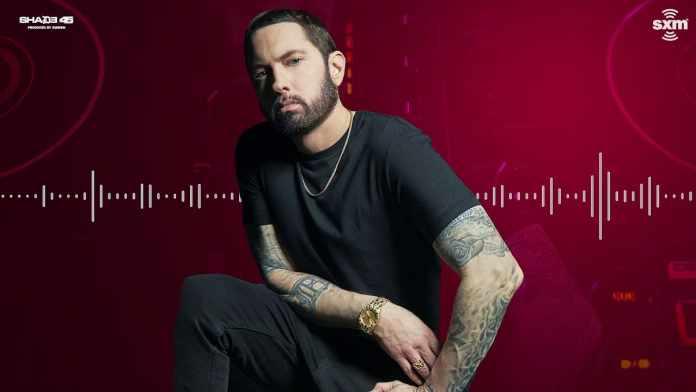 Eminem SiriusXM image