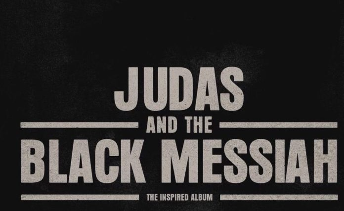 Judas and the Black Messiah- The Inspired Album f: Jay-Z, Nas, Nipsey Hussle, Rakim & More cover