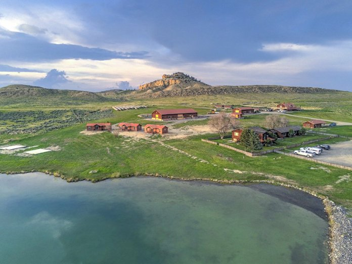 Kanye West's Wyoming ranch