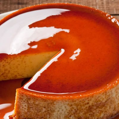 Pressure Cooker Cheese Flan