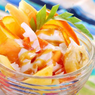 Papaya and Banana Salad